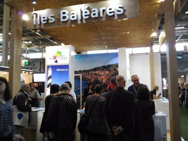Baleares en la 'Salon Destinations Nature' de París