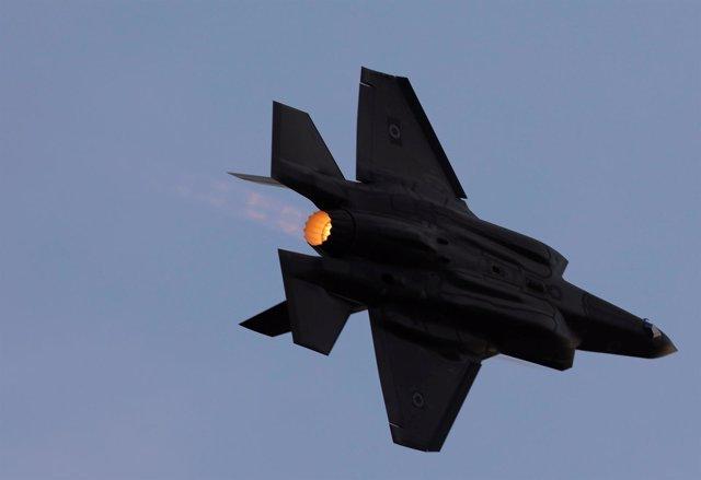 Avión F-35 de las fuerzas israelíes