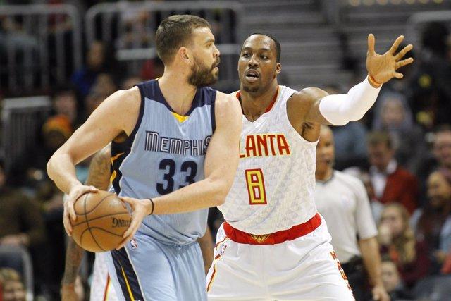 Memphis Grizzlies Marc Gasol Atlanta Hawks Dwight Howard