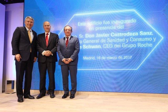 Inauguración de la nueva sede de Roche en Madrid