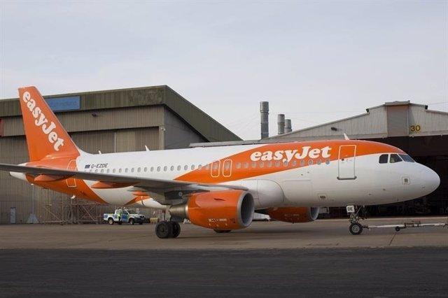 Nuevo avión de easyJet