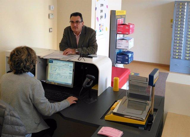 Correos abre una oficina en el Polígono Sepes de Huesca