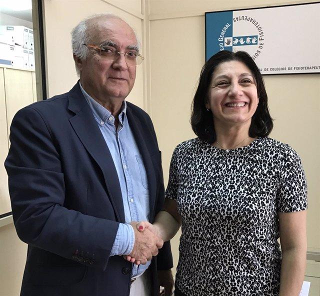 El CGCFE firma un acuerdo de colaboración con la Orden Francesa de Fisioterapeut