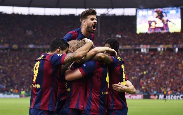El FC Barcelona conquista su quinta 'Champions' tras batir (1-2) a la Juventus.