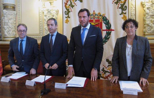 Presentación del acuerdo para Proinfancia de La Caixa en Valladolid