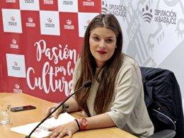 La diputada de Cultura, Cristina Núñez