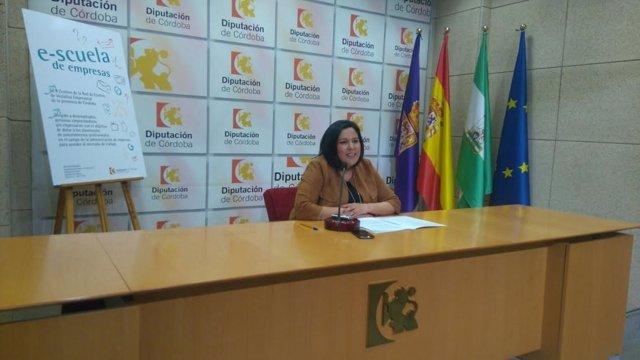 Dolores Amo presenta 'e-scuela de empresas'