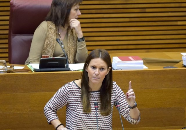 Beatriz Gascó en las Corts
