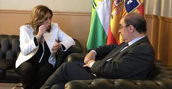 Aragón y Andalucía emplazan a acelerar el corredor ferroviario central