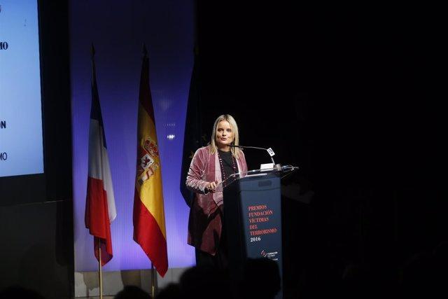 Mari Mar Blanco en la entrega de los Premios de la Fundación Víctimas
