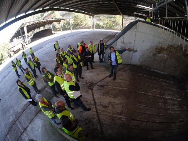 Inauguración de las mejoras de la planta de Torrelles de Llobregat