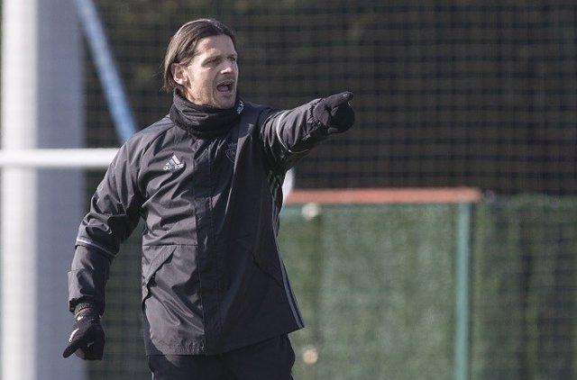 El entrenador del Club Atlético Osasuna, Petar Vasiljevic