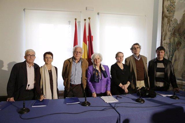 Miembros del Comisionado de Memoria Histórica