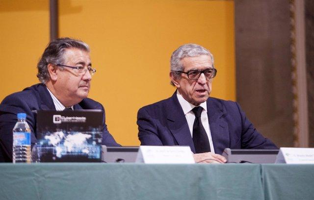 Braulio Medel y Juan Ignacio Zoido