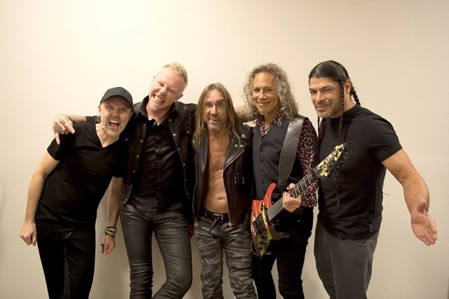 IGGY POP CON METALLICA