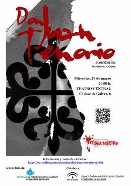 TomaTeatro representa de forma benéfica 'Don Juan Tenorio'