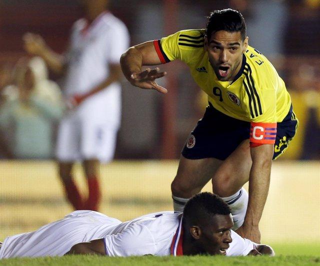 Radamel Falcao marca gol en el amistoso de Colombia contra Costa Rica