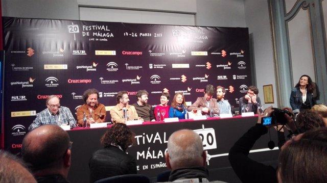 Presentación 'Selfie' festival de málaga