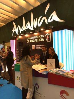 La marca Almería se promociona dentro del espacio de Turismo Andaluz.