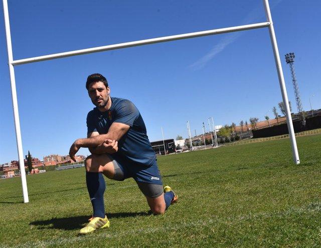 Jaime Nava, capitán de la Selección Española de de Rugby XV