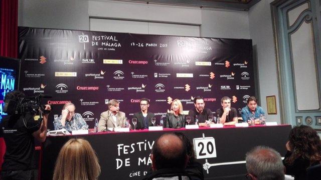 Presentación 'Maniac Tales' Festival de Málaga