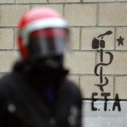 Pintada de ETA. Foto de recurso