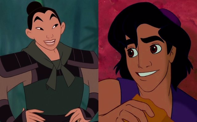Mulán/Aladdin