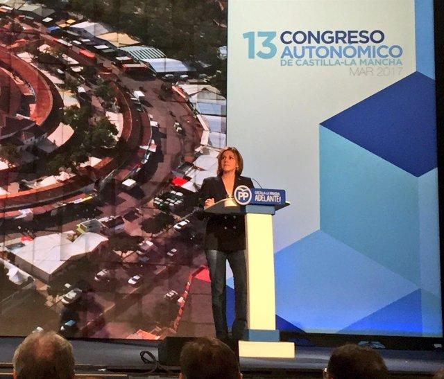 Cospedal en el Congreso de Cuenca