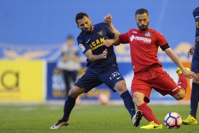UCAM Murcia vence al Getafe en Segunda División