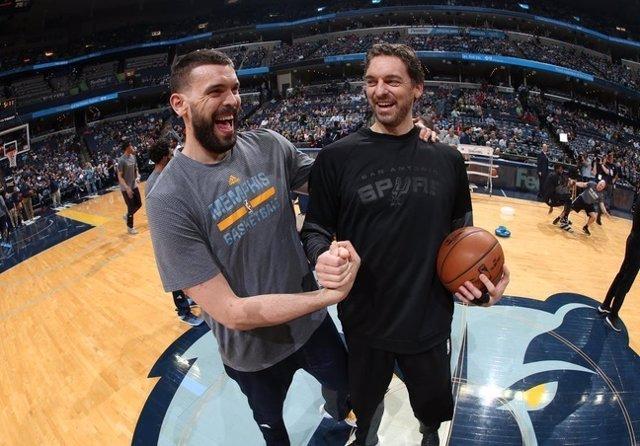Marc Pau Gasol NBA Memphis Grizzlies San Antonio Spurs