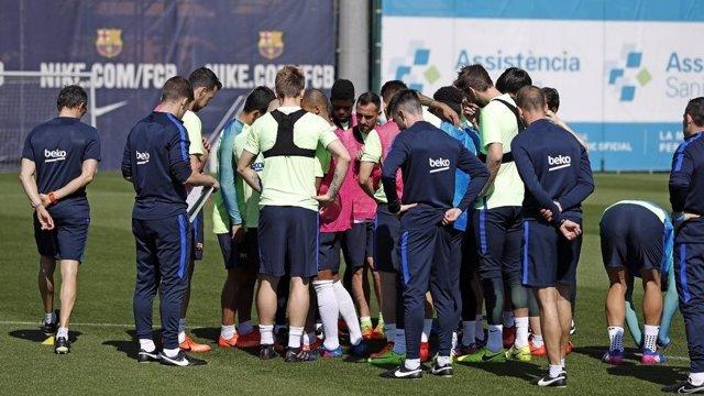 Entrenamiento Barcelona