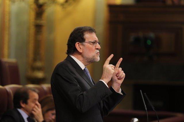 Rajoy en el debate en el Congreso sobre el Consejo Europeo