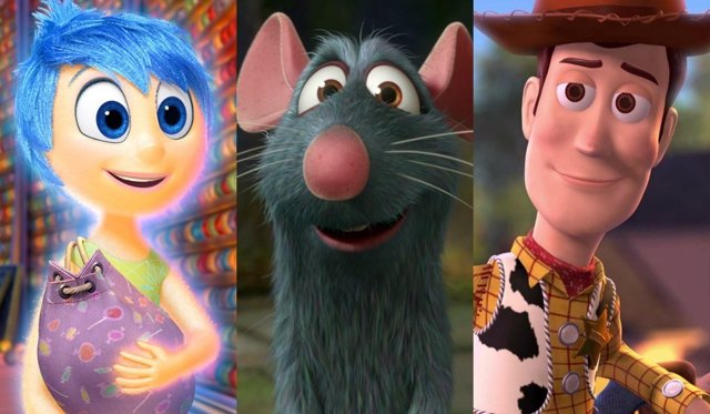 Del Revés, Ratatouille y Toy Story
