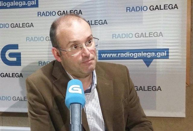 El secretario general del PPdeG, Miguel Tellado