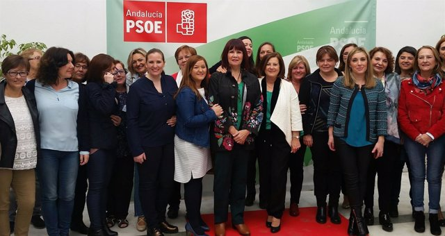 Acto del PSOE por la igualdad