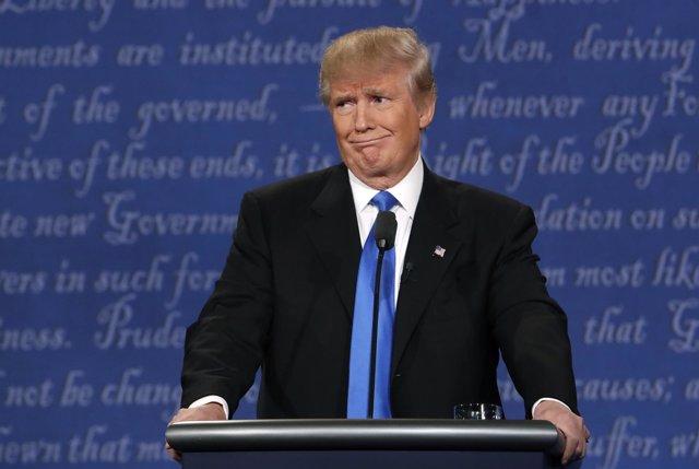 El presidente estadounidense, Donald Trump