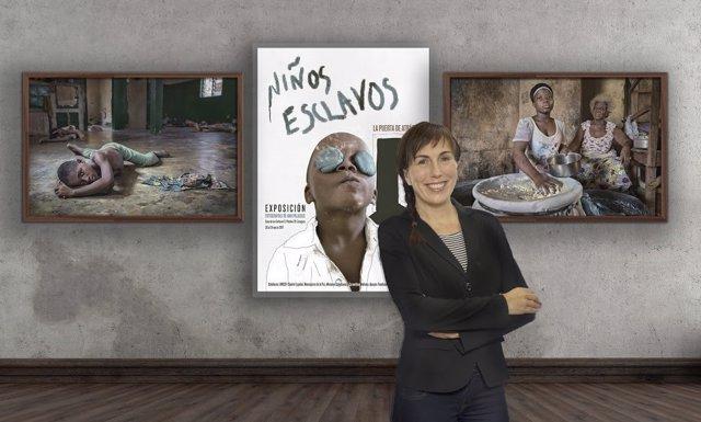 Exposicón de Los Niños esclavos de la fotógrafa  Ana Palacios