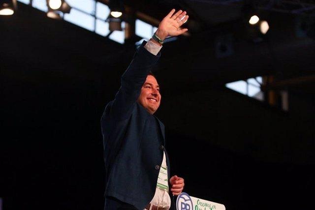 Moreno apela a la unidad para renovar Andalucía