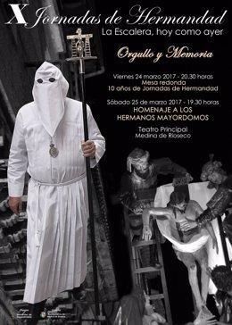 Cartel anunciador de las jornadas de 'La Escalera'.