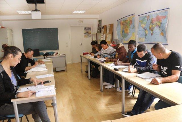 Imagen de una de las clases