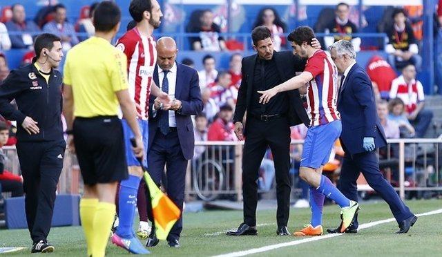 Sime Vrsaljko Simeone Atlético lesión