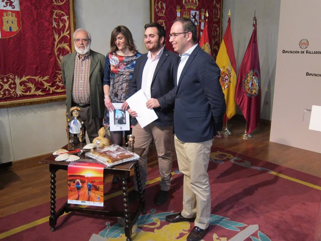 Presentación del VIII Encuentro de Peregrinos de Villalón (Valladolid)