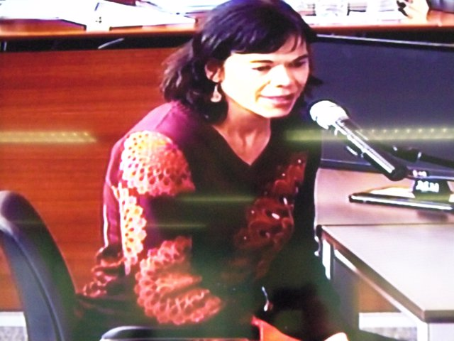 Clara Millet, filla de Fèlix Millet, declara pel cas Palau