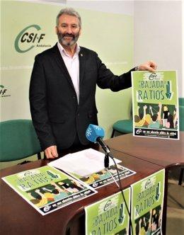El presidente del Sector de Educación de CSIF-A, Francisco Hidalgo