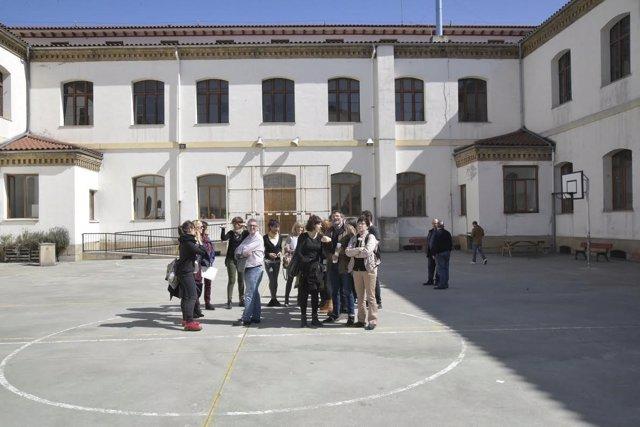 Visita al colegio San Francisco.