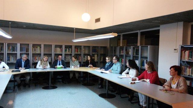 Rerveta en la reunión de la Comisión de Coordinación para la Igualdad de Género