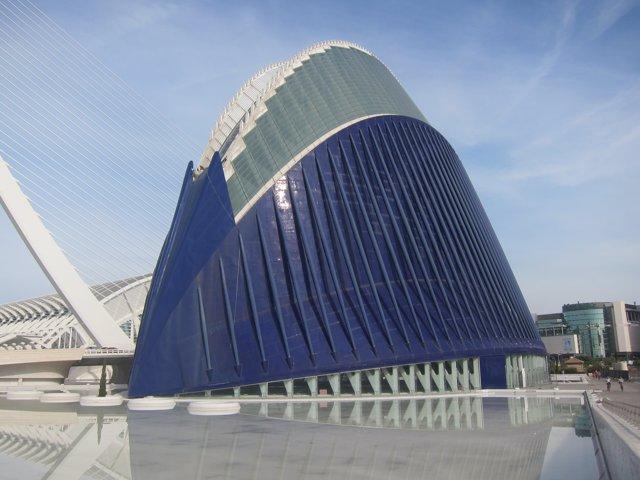 Ágora de la Ciudad de las Artes y las Ciencias de Valencia