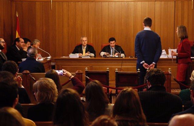 Declaración de la víctima en el juicio del caso Romanones por presuntos abusos