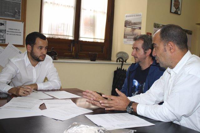 Rojas se reúne con miembros del SAB