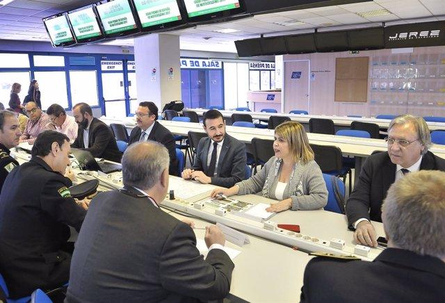 Reunión del Comité de Operaciones para el Gran Premio de Jerez